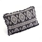 Tribal Pillow Black & White Product Image