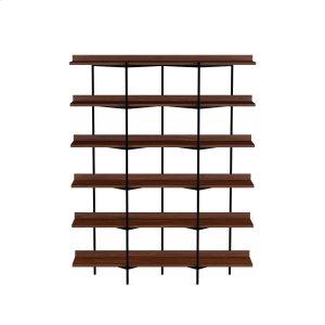 Bdi FurnitureShelving System 5306 in Toasted Walnut Black