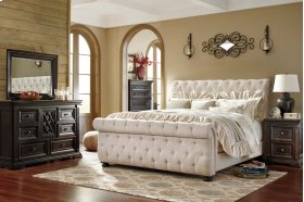 Willenburg - Dark Brown 3 Piece Bed Set (King)