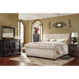 Ashley Furniture Willenburg - Dark Brown 3 Piece Bed Set (King)