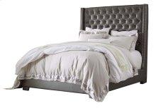 Coralayne - Silver 2 Piece Bed Set (King)
