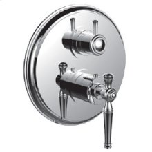 """7098kl-tm - 1/2"""" Thermostatic Trim With 3-way Diverter Trim (shared Function) in Polished Chrome"""