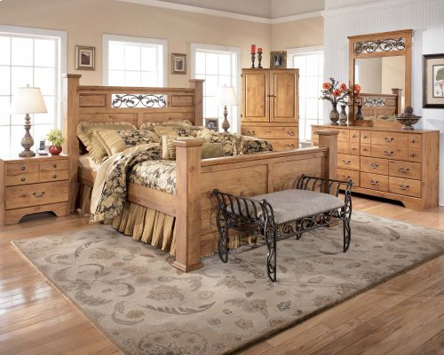 Bittersweet - Light Brown 2 Piece Bedroom Set