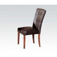 Esp. Pu Side Chair (sm#7046)