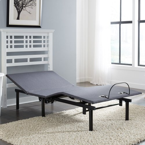 Symmetry EZ Compact Adjustable Bed Base with Head and Foot Articulation, Split King