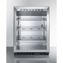 Built-in Undercounter Commercial Beverage Center W/ss Interior, Lock, and Digital Thermostat