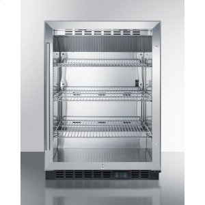 Built-in Undercounter Commercial Beverage Center W/ss Interior, Lock, and Digital Thermostat -