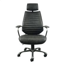 Executive Swivel Office Chair Black