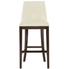 Bailey Leather Bar Stool in Cocoa