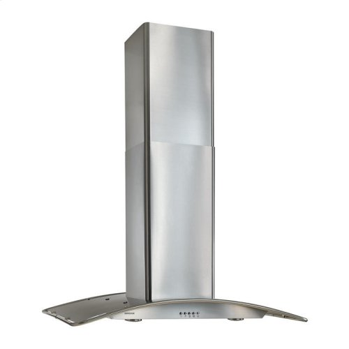 """36"""" Arched Stainless Steel, Island Hood"""