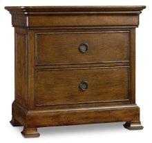 Bedroom Archivist Three-Drawer Nightstand