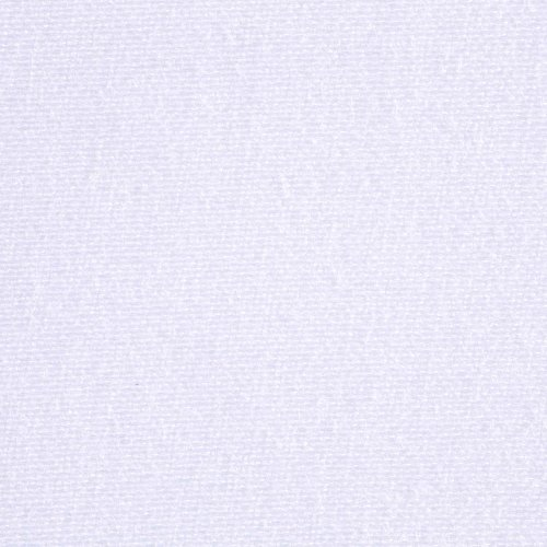 Sleep Plush + White Fabric Box Spring Cover, Queen