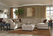 Hazes - Fleece 2 Piece Sectional