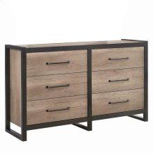 Edgewater Industrial Weathered Oak Dresser