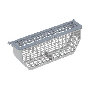 Dishwasher Silverware Basket, White -