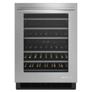 "Jenn-AirEuro-Style 24"" Under Counter Wine Cellar Stainless Steel"
