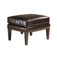 Marissa Leather Ottoman