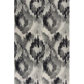 "CLEARANCE ITEM Reina 9515 Grey Illusion 5'3"" X7'7"""