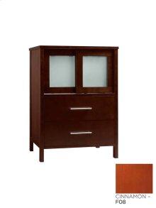 "Minerva 23"" Bathroom Vanity Base Cabinet in Cinnamon"