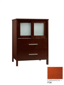 "Minerva 23"" Bathroom Vanity Base Cabinet in Cinnamon"