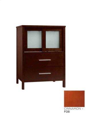 "Minerva 23"" Bathroom Vanity Base Cabinet in Cinnamon Product Image"