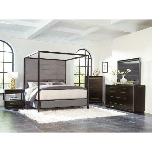 Smoked Peppercorn California King Bed