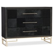Living Room Hair on Hide Accent Chest