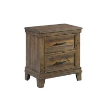 Nightstand, 2 Drawer