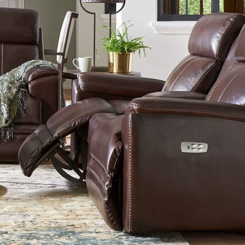 Talladega Power Reclining Loveseat w/ Headrest & Console