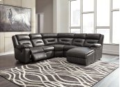 Coahoma - Dark Gray 3 Piece Sectional