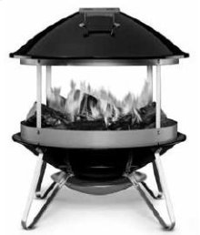 WEBER WOOD BURNING FIREPLACE