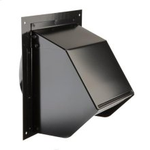 Wall Cap in Black; Ventilation Fans