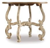 Living Room Sanctuary Round Lamp Table- Dune/Beach