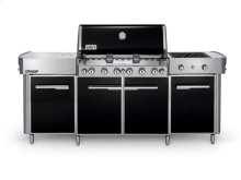 SUMMIT® GRILL CENTER LP GAS - BLACK