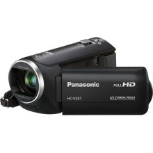 V201: Full HD Optically Stabilized Long Zoom Camcorder