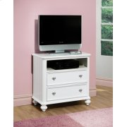 WHITE TV CONSOLE Product Image
