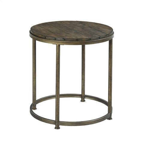 Leone Round End Table
