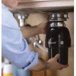 GE ®1/2 Hp Continuous Feed Garbage Disposer - Corded