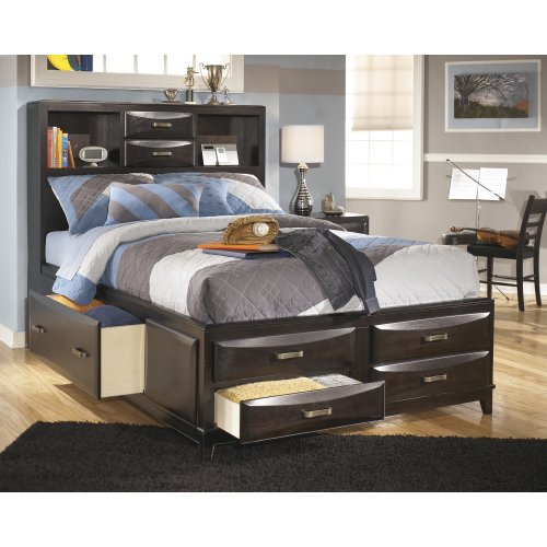 Full Under Bed Storage w/Rails