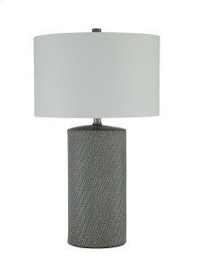 Ceramic Table Lamp (1/CN) Shelleny - Gray/Green Collection Ashley at Aztec Distribution Center Houston Texas