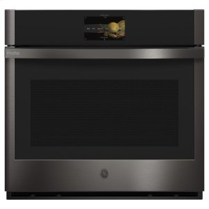 "GE ProfileGE PROFILEGE Profile™ 30"" Smart Built-In Convection Single Wall Oven with No Preheat Air Fry and Precision Cooking"