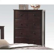 Dark Walnut Chest W/5 Drawers Product Image