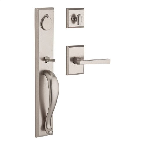 White Bronze Longview Handleset