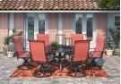 Apple Town - Burnt Orange 4 Piece Patio Set Product Image