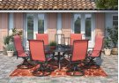 Apple Town - Burnt Orange 4 Piece Patio Set Product Image