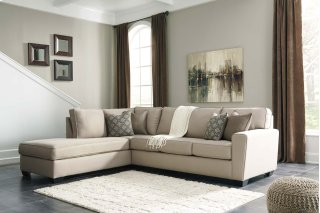 Calicho Sectional Ecru Left