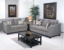 1225S Sofa in Flyer metal Pillows in Roxanne Rio & Euphoria