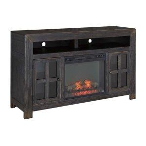 Ashley Furniture Gavelston - Black 2 Piece Entertainment Set