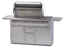 "56"" Deluxe cart model grill"