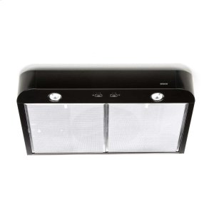 BroanAntero 30-Inch 250 Cfm Black Range Hood With Light